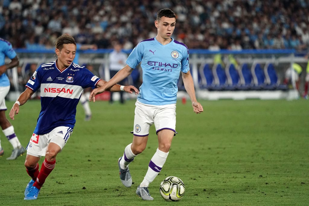 Phil Foden, Manchester City, Pep Guardiola