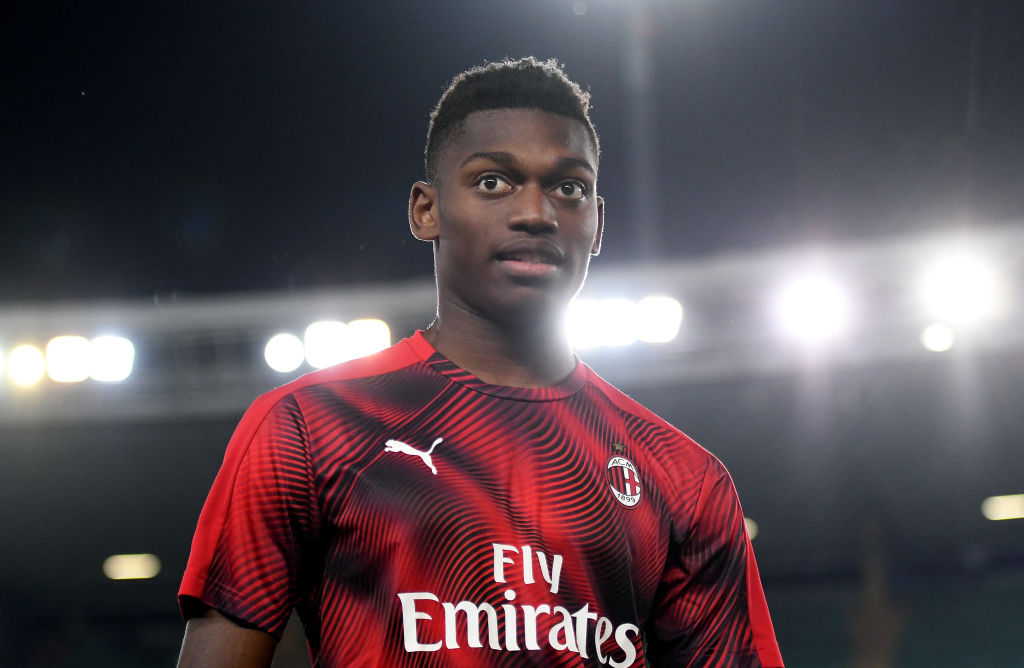 The 21-year old son of father (?) and mother(?) Rafael Leão in 2021 photo. Rafael Leão earned a  million dollar salary - leaving the net worth at  million in 2021