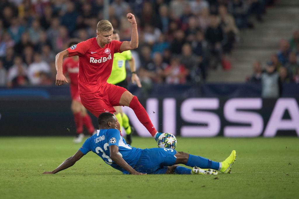 FC Salzburg vs KRC Genk  - Champions League Group E