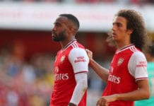 Alexandre Lacazette, Matteo Guendouzi, Arsenal, Premier League