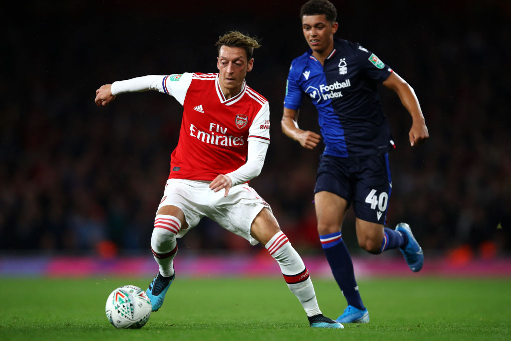Arsenal FC v Nottingham Forrest  - Carabao Cup Third Round