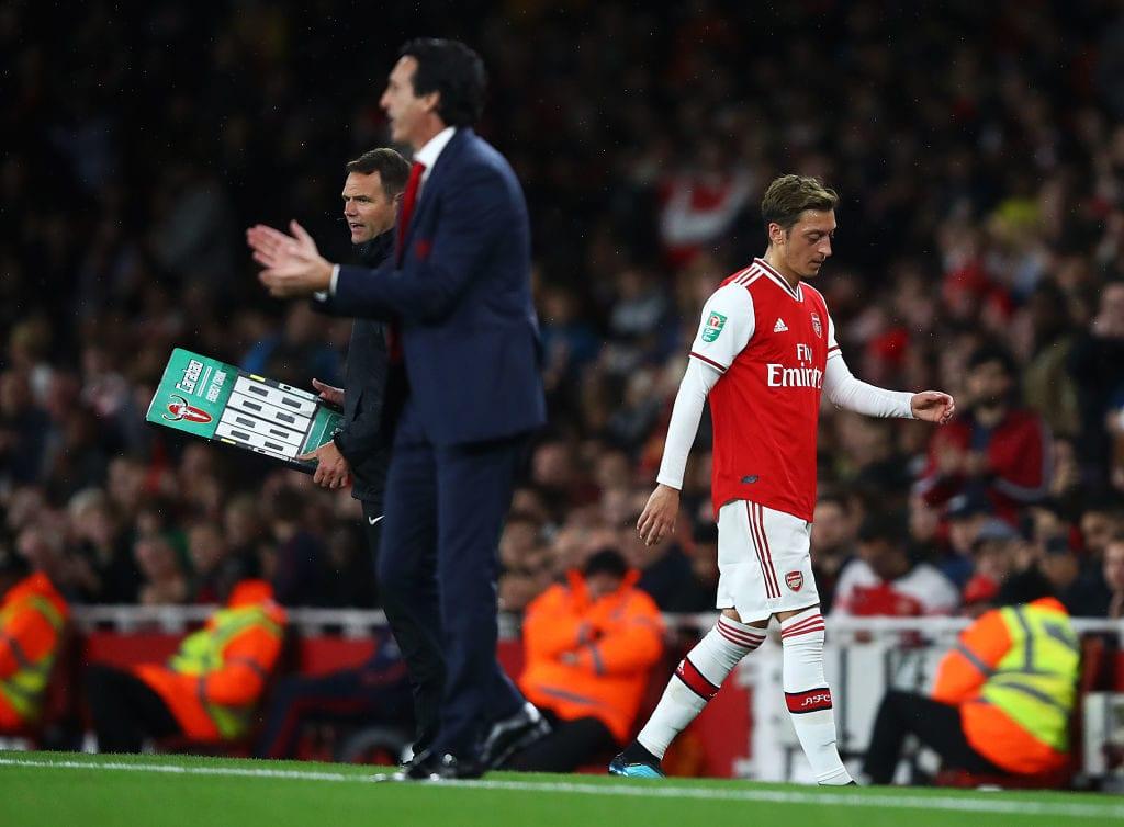 Mesut Ozil, Arsenal, Premier League, Unai Emery, Ian Wright