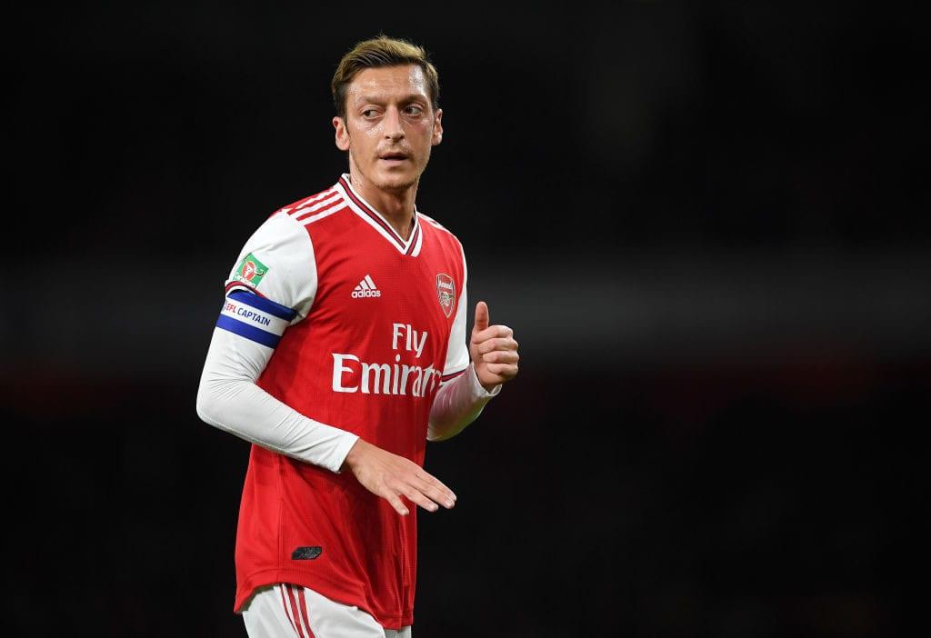 Mesut Ozil, Arsenal, Europa League, Unai Emery