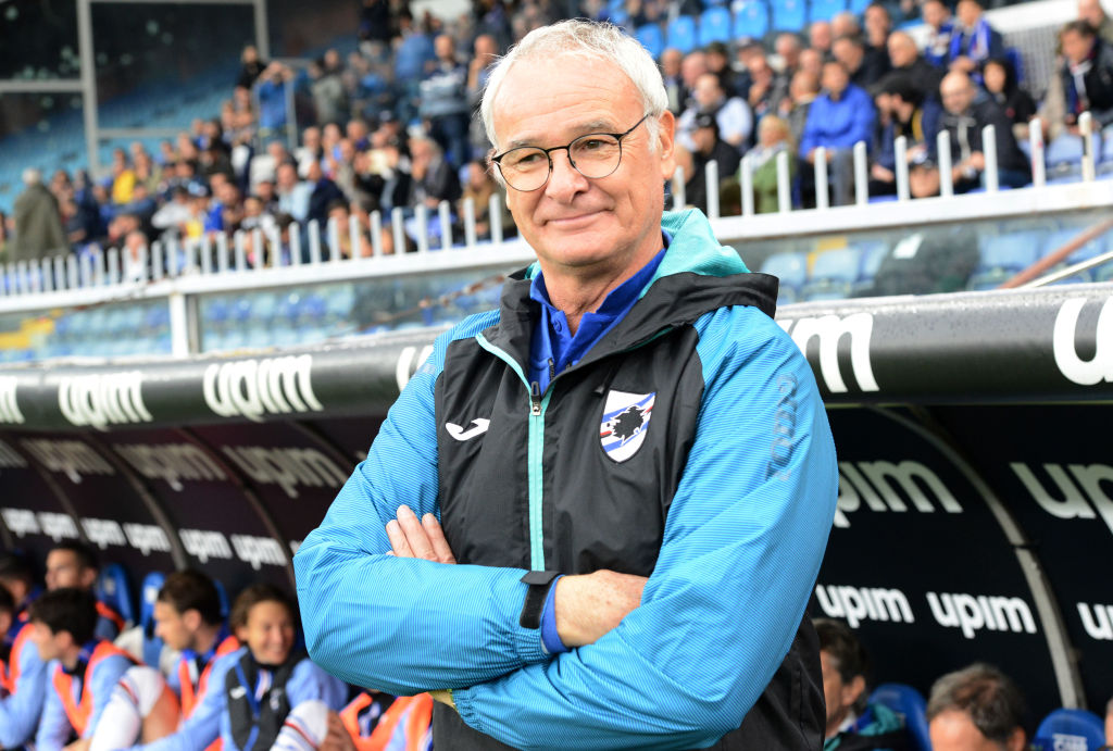 Claudio Ranieri, Sampdoria, AS Roma, Serie A