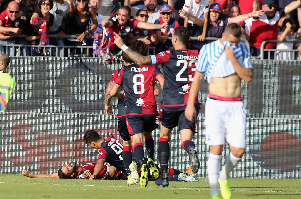 Cagliari, SPAL, Serie A