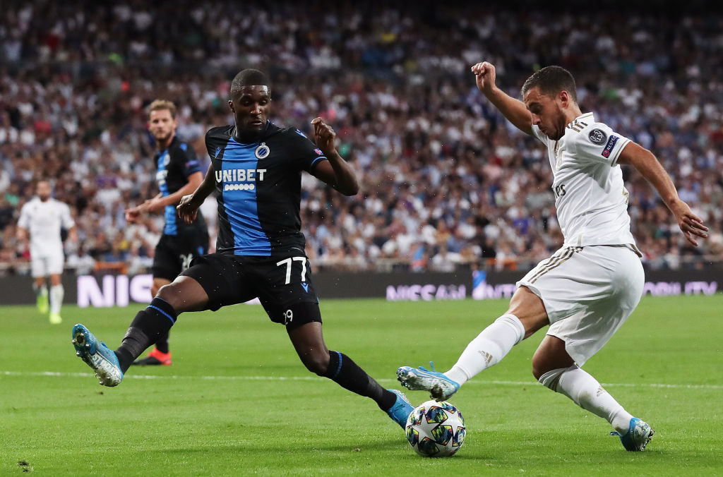 Real Madrid v Club Brugge KV: Group A - UEFA Champions League