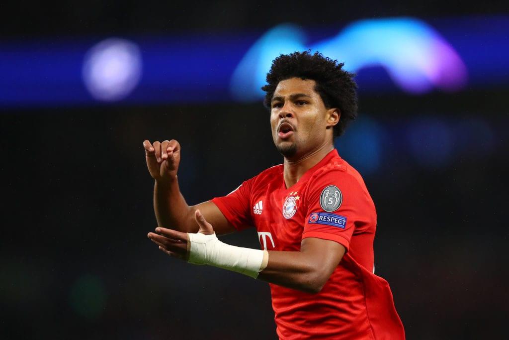 Serge Gnabry, Bayern Munich