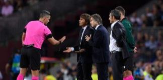 Antonio Conte, Inter Milan, Barcelona, referee