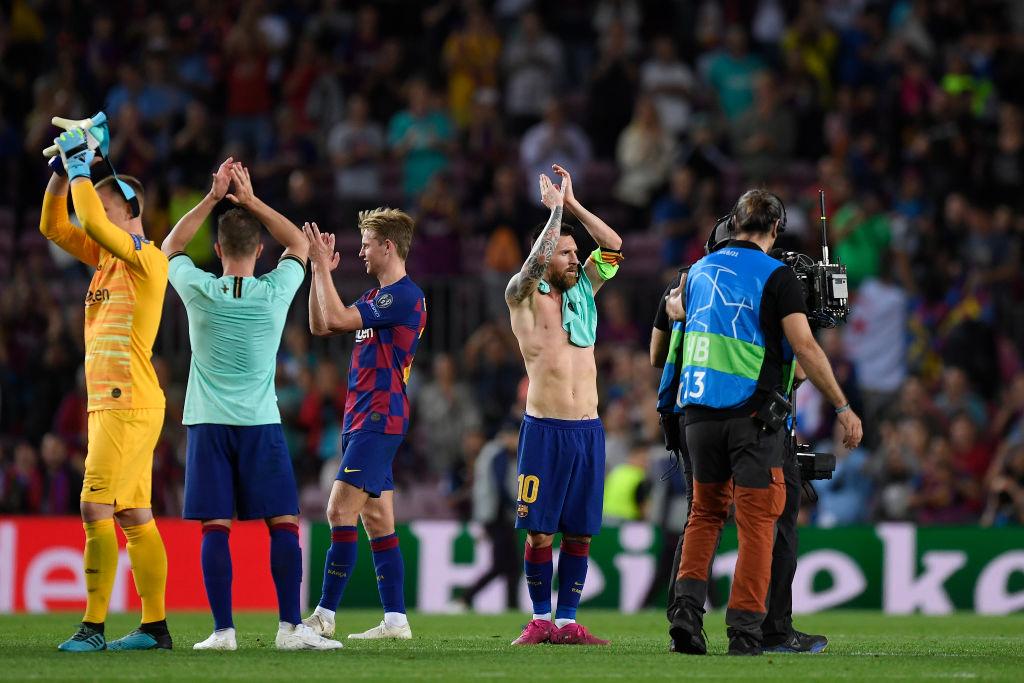 FC Barcelona v FC Internazionale: Group F - UEFA Champions League