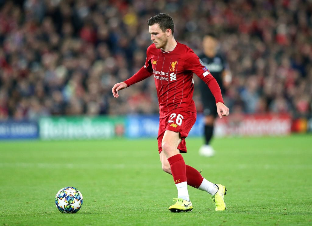 Andrew Robertson, Liverpool, Premier League, FIFA 20