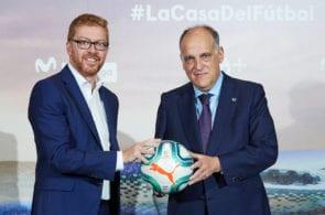 Javier Tebas, La Liga, Barcelona, Real Madrid