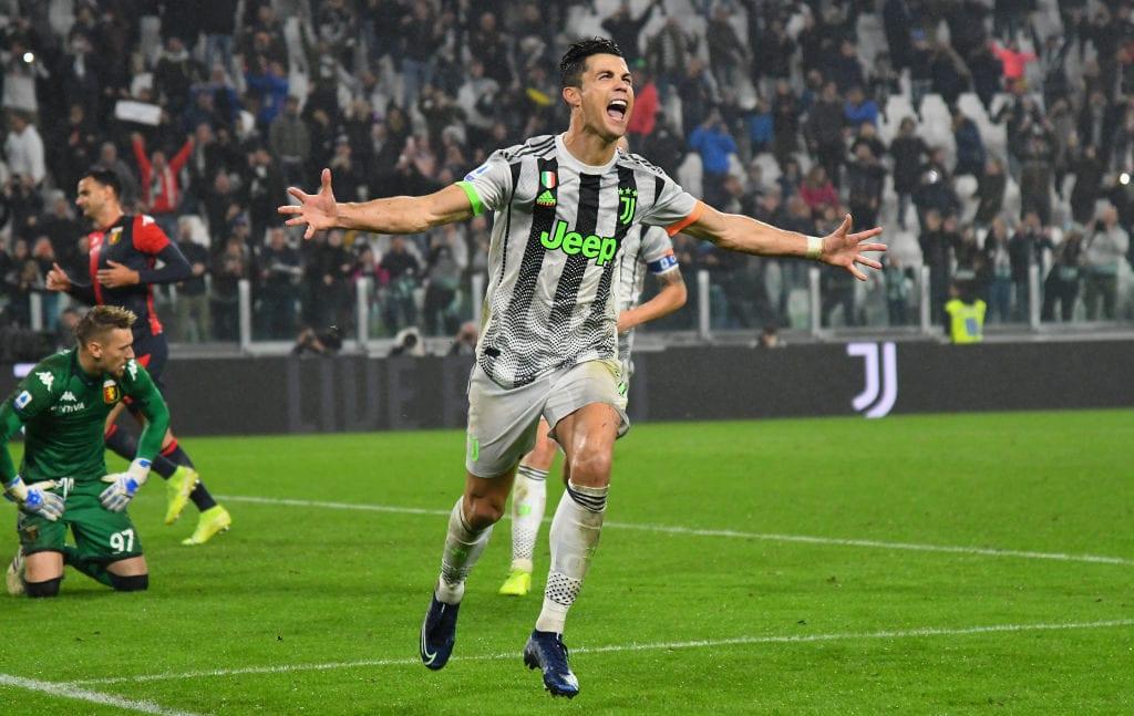 Cristiano Ronaldo, Juventus, Genoa, Serie A