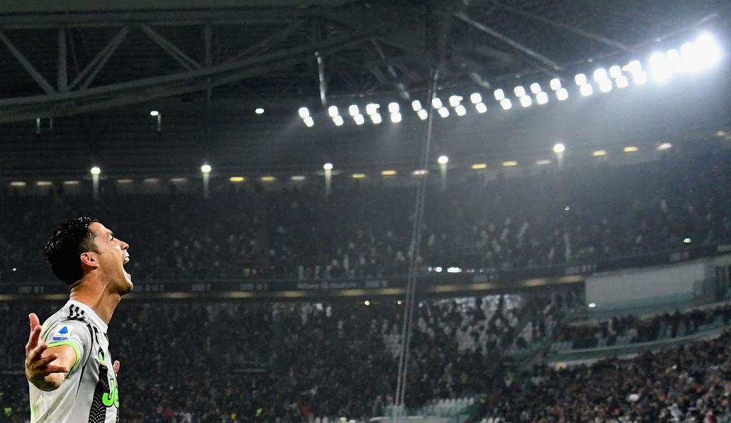 Cristiano Ronaldo, Juventus, Genoa, Serie A, Halloween, joker