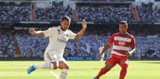 Eden Hazard, Zinedine Zidane, Real Madrid, Granada, La Liga
