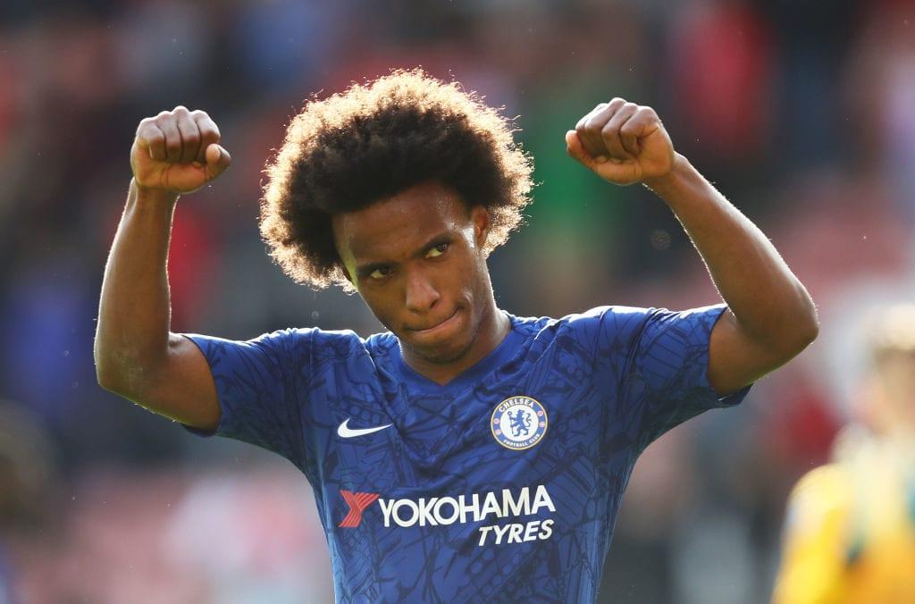 Willian, Chelsea, Premier League