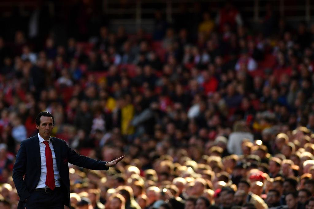 Unai Emery, Arsenal, Bournemouth, Premier League