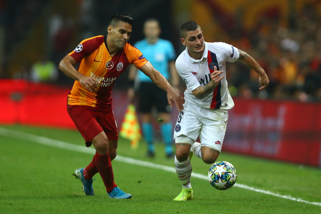 Galatasaray v Paris Saint-Germain: Group A - UEFA Champions League
