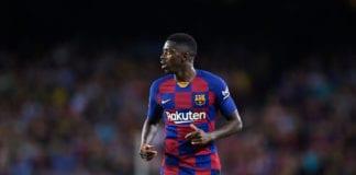 Ousmane Dembele, Barcelon