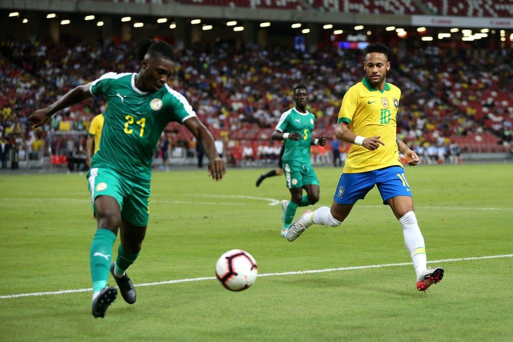 Neymar, Brazil, Senegal