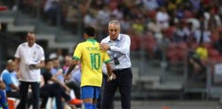 Tite, Neymar, Brazil, Nigeria