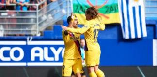 Antoine Griezmann, Barcelona, SD Eibar, La Liga, Luis Suarez, Lionel Messi