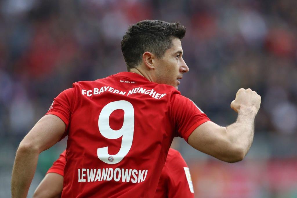 Robert Lewandowski, Bayern Munich, Bundesliga
