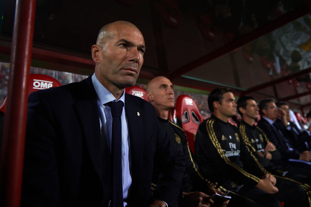 Zinedine Zidane, Real Madrid, RCD Mallorca, La Liga