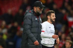 Jurgen Klopp, Adam Lallana, Liverpool, Premier League