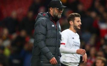 Jurgen Klopp, Adam Lallana, Liverpool, Premier League