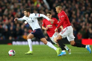 Marcos Rojo, Manchester United, Premier League, Adam Lallana, Liverpool