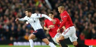 Marcos Rojo, Manchester United, Premier League, Adam Lallana, Liverpool