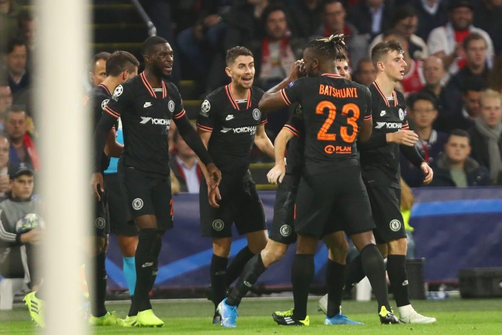 Frank Lampard, Michy Batshuayi, Christian Pulisic, Chelsea, Ajax, Champions League