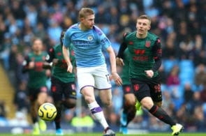 Kevin De Bruyne, Manchester City, David Silva, Aston Villa, Premier League