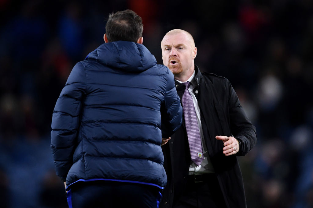 Sean Dyche, Burnley, Premier League