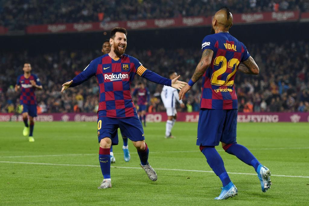 Arturo Vidal, FC Barcelona