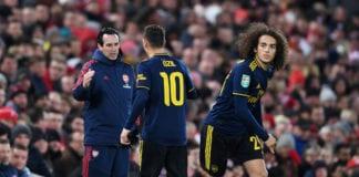 Mesut Ozil, Unai Emery, Arsenal, Liverpool, Carabao Cup