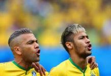 dani alves, neymar, brazil