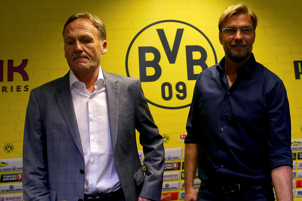 Jurgen Klopp, Hans-Joachim Watzke, Borussia Dortmund, Liverpool