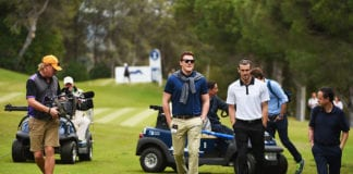 gareth bale, golf
