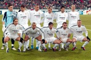 Fussball: CL 03/04, FC Bayern Muenchen-Real Madrid