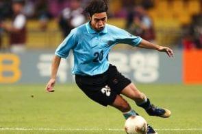 FUSSBALL: WM 2002 in JAPAN und KOREA, FRA - URU 0:0