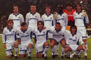 FUSSBALL: CHAMPIONS LEAGUE 97/98 AC PARMA, 04.11.97