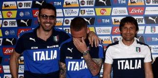 Gianluigi Buffon, Daniele De Rossi, Italy, Roberto Mancini