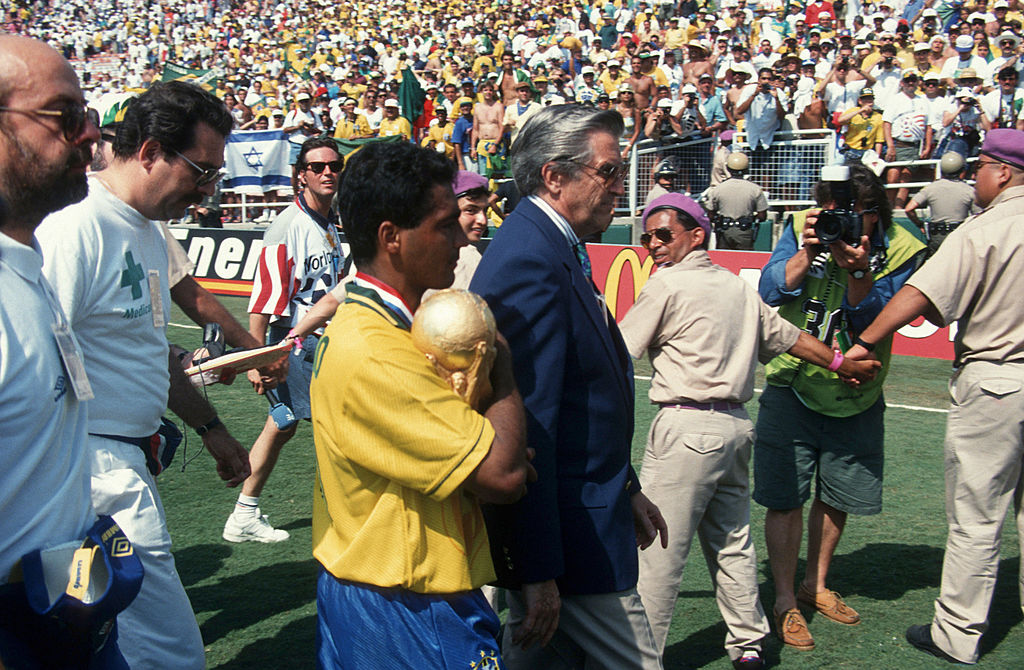 World Cup final match Brazil v Italy