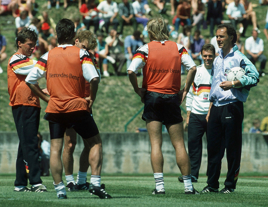 Germany Training Camp for the FIFA 1990 World Cup