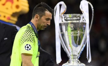 Gianluigi Buffon, Juventus, Champions League