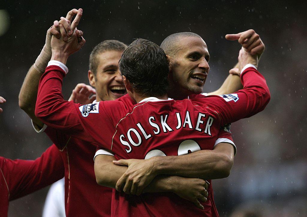 Rio Ferdinand, Ole Gunnar Solskjaer, Manchester United