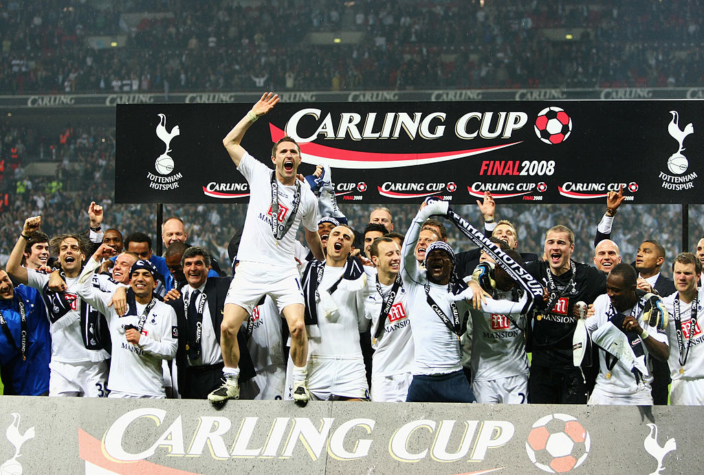tottenham hot spurs, 2008, league cup