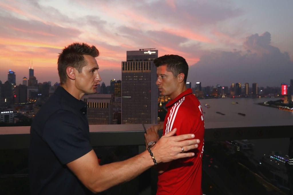 Miroslav Klose, Robert Lewndowski