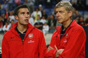 Robin Van Persie, Arsene Wenger, Arsenal, Europa League